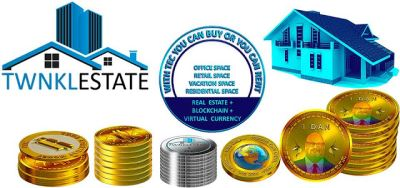 Purchase, Sell and Rent RealEstate Using Virtual Currency