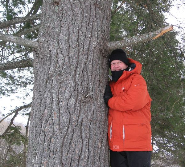 Me and a Tree Spirit Friend