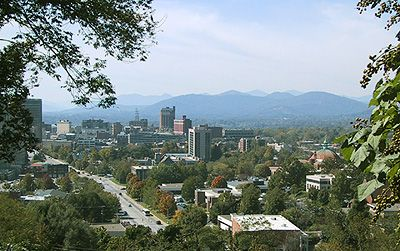 http://en.wikipedia.org/wiki/Asheville,_North_Carolina