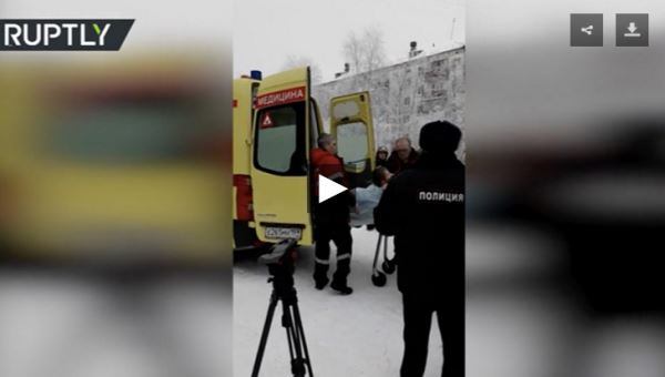 15 injured in knife rampage at Russian school_video2