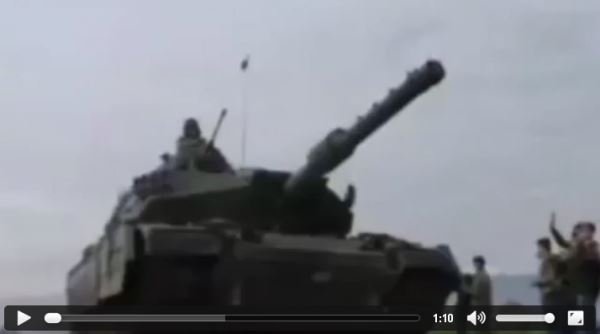 TURKISH military forces are invading Syria_video