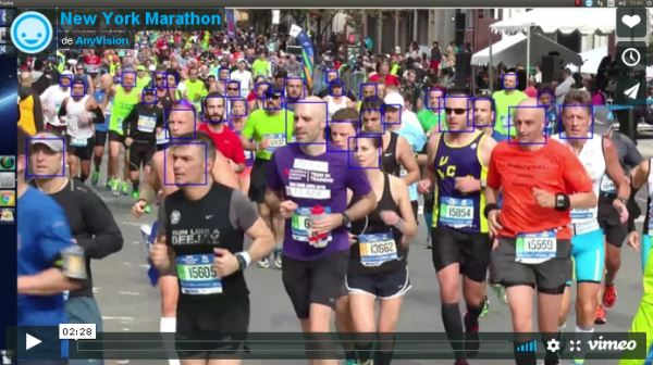 New York Marathon from AnyVision_vimeo