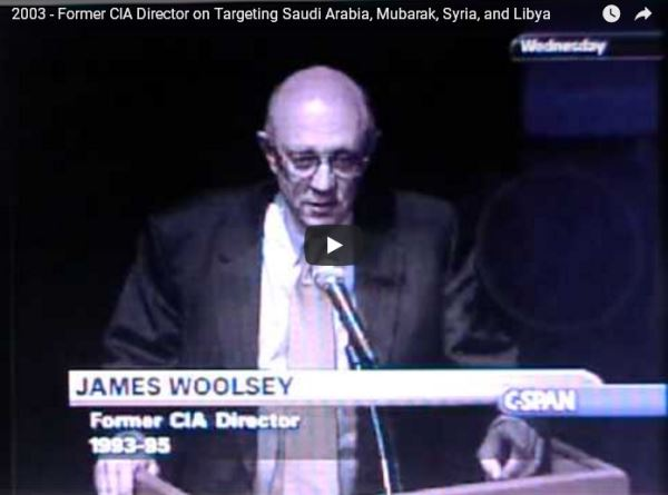 2003 Former CIA Director on Targeting Saudi Arabia etc_video