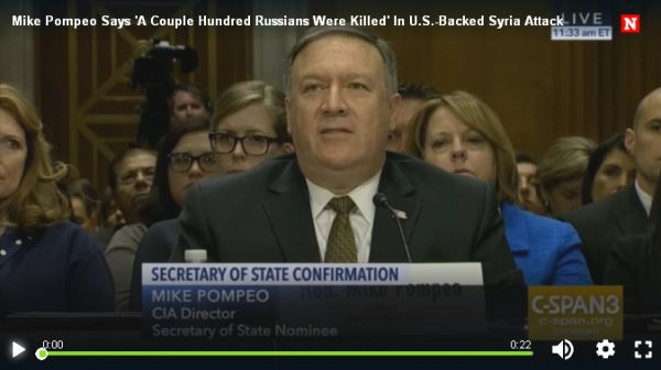 Mike Pompeo Says 'A Couple Hundred Russians Were Killed'_video