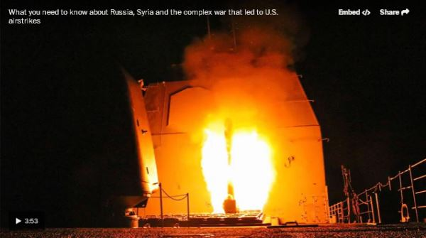 Russia, Syria and the complex war that led to U.S. airstrikes_video