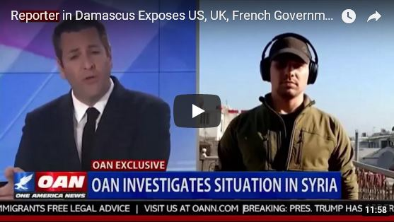 Reporter in Damascus Exposes US, UK, French Governments_video