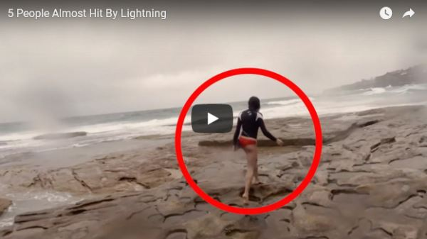 5 People Almost Hit By Lightning