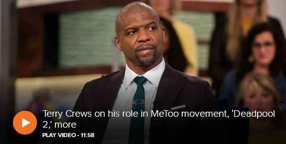 Terry Crews on his role in MeToo movement, and more_video