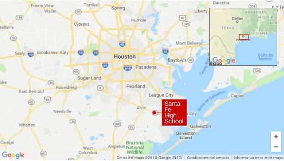 Shooter at Texas high school spared people he liked_map