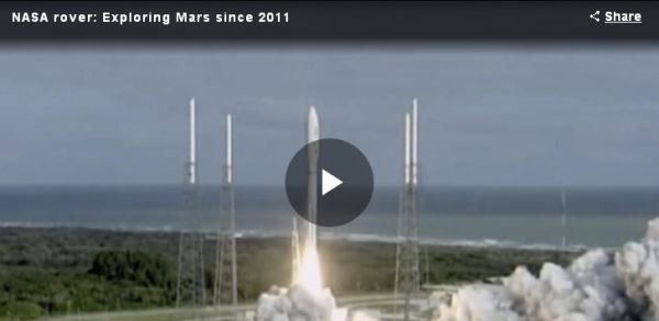 NASA rover - Exploring Mars since 2011_video