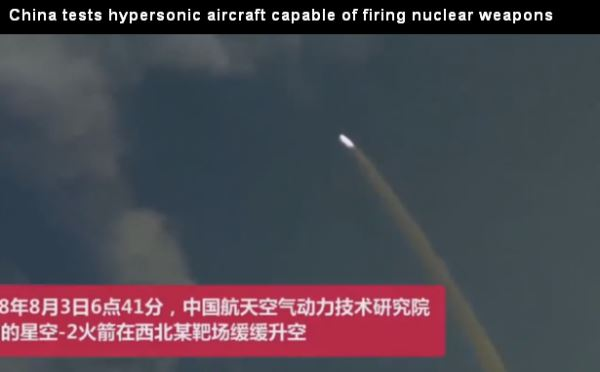China tests aircraft capable of firing nuclear weapons_video