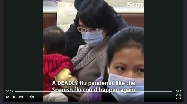 Risk to Mankind from Next Flu Pandemic_video