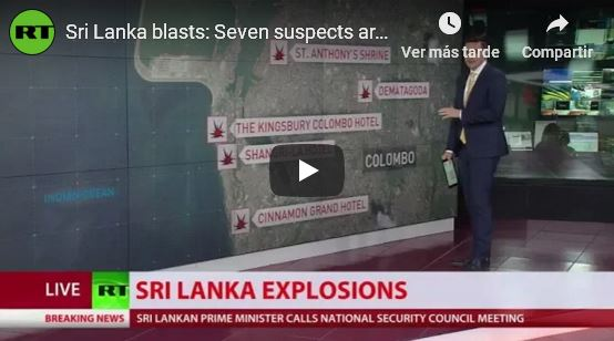 Sri Lanka blasts--Seven suspects are etc._video